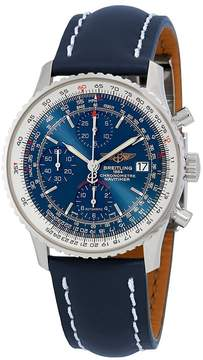 Breitling Navitimer Heritage Chronograph Automatic Blue Dial Men's Watch
