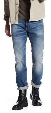 G Star Deconstructed Slim Straight Leg Jeans