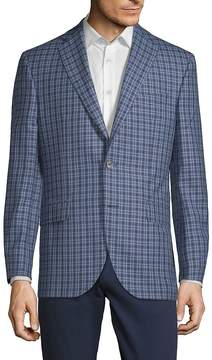 Jack Victor Men's Conway Checkered Jacket