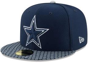 New Era Boys' Dallas Cowboys Sideline 59FIFTY Fitted Cap