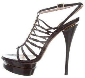 Versace Platform Gladiator Sandals