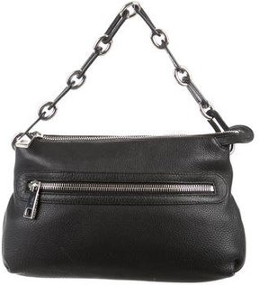 Marc Jacobs Pebbled Leather Handle Bag - BLACK - STYLE