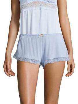 Eberjey Serena Scalloped Shorts