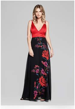 GUESS Eden Floral Maxi Dress