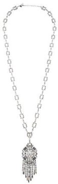 Christian Dior Crystal Pendant Necklace