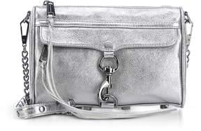 Rebecca Minkoff Laminated Mini M.a.c. Crossbody Bag - ANTHRACITE - STYLE