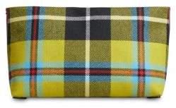 Burberry Plaid Zip Clutch - MULTI - STYLE