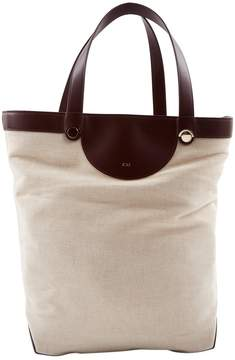 Co Beige Cloth Handbag