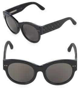 Bottega Veneta 54MM Round Sunglasses