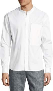 Lot 78 Lot78 Men's Cotton Long Pocket Shirt