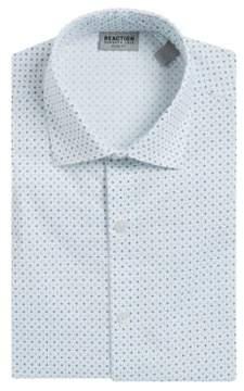 Kenneth Cole Reaction Geo-Print Flex Dress Shirt