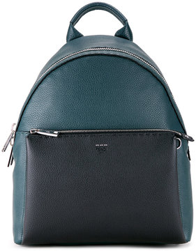 Fendi contrast pocket backpack