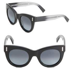 Boucheron 48MM Ombre Rounded Sunglasses