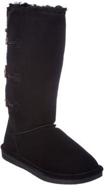 BearPaw Women's Lauren Classic Tall Neverwet Suede Boot