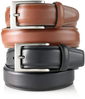 Perry Ellis Men's Full-Grain Leather Belt