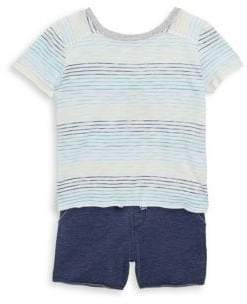 Splendid Baby's, Toddler's& Little Boy's Two-Piece Stripe Tee& Shorts Set