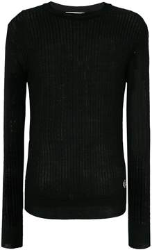 Pierre Balmain light cable knit sweater