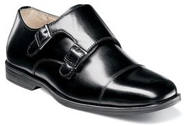 Florsheim Boy's Reveal Double Monk Strap Shoe