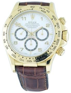 Rolex Daytona Zenith El Primero 18K Yellow Gold 40mm Mens Watch