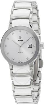 Rado Centrix Automatic White Dial Ladies Watch
