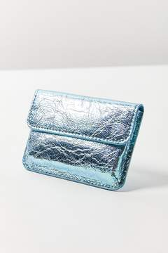 Urban Outfitters Iridescent Snap Card Case
