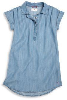 Vineyard Vines Toddler's & Girl's Denim Shift Dress