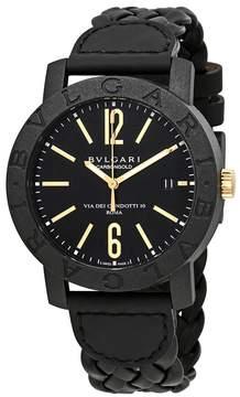 Bvlgari Automatic Black Dial Men's Watch