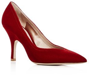 Giorgio Armani Women's Velluto Velvet Pointed Toe Pumps