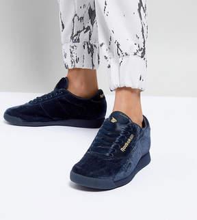 Asos x Reebok Princess Sneakers In Velvet