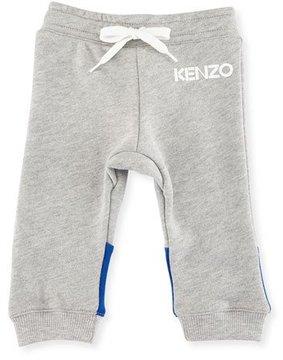 Kenzo Logo Drawstring Sweatpants, Gray, Size 2-3Y