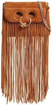 Mini Pierce Long Fringe Suede Bag