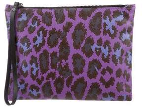 Christopher Kane Printed Leather Clutch