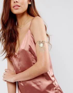 Asos Chainmail Draping Arm Cuff