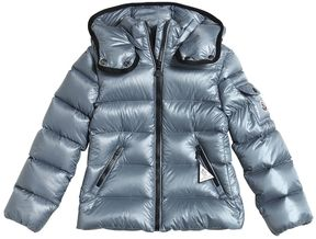 Moncler Berre Hooded Nylon Down Jacket