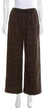 eskandar Cashmere Wide-Leg Pants