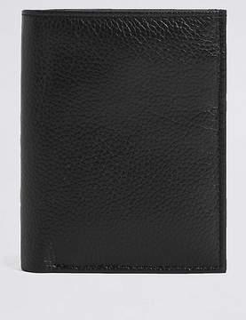 Marks and Spencer Leather Slim Bi Fold Card Wallet with CardsafeTM