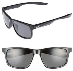 Men's Nike Essential Chaser 59Mm Polarized Sunglasses - Matte Black