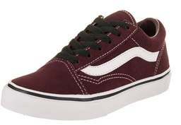 Vans Kids Old Skool (suede) Skate Shoe.