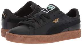Puma Kids Basket Classic Gum Deluxe Kids Shoes