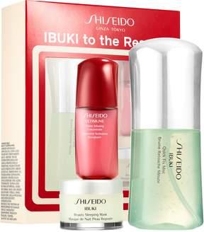 Shiseido Ibuki to the Rescue Starter Kit