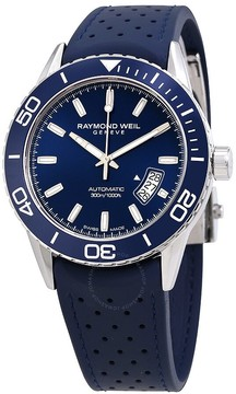 Raymond Weil Freelancer Automatic Blue Dial Men's Watch