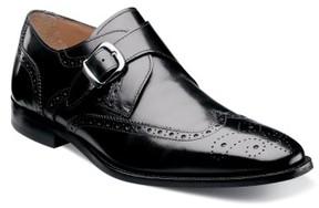 Florsheim Men's 'Sabato' Wingtip Monk Strap Shoe