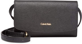 Calvin Klein Logan Leather Crossbody