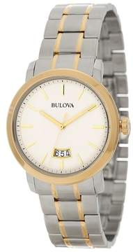 Bulova Men's Two-Tone Bracelet Watch