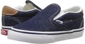 Vans Kids Slip-On 59 Dress Blues/Chipmunk) Boy's Shoes