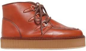 Stella McCartney Faux Leather Chukka Boots