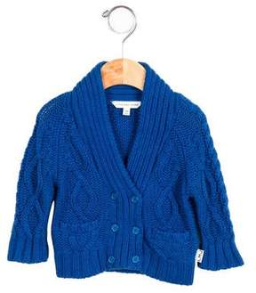 Little Marc Jacobs Boys' Double-Breasted Cable-Knit Sweater