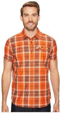 Prana Patras Slim Men's Short Sleeve Button Up