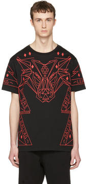 Marcelo Burlon County of Milan Black Lamborghini T-Shirt