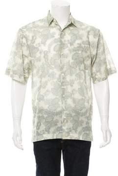 Dries Van Noten Floral Button-Up Shirt